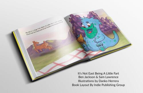 It's Not Easy Being A Little Fart Book (1)
